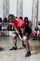 Gymstick Pro Neopreen Kettlebell - Zwart - Met Online Trainingsvideo's - 28kg-2