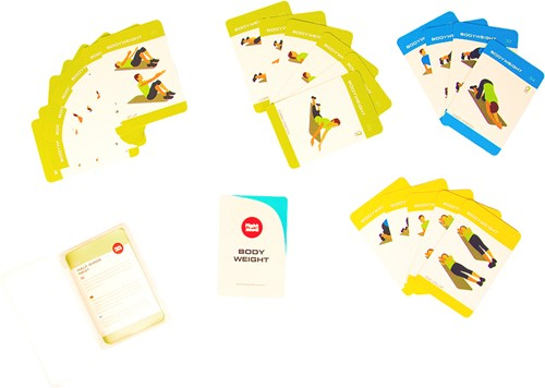 Fight Back Fitness Mat Training Cards