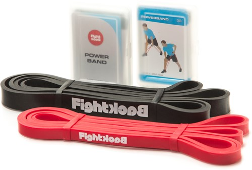 Fight Back Power Bands - Weerstandsbanden met Handvaten - Light