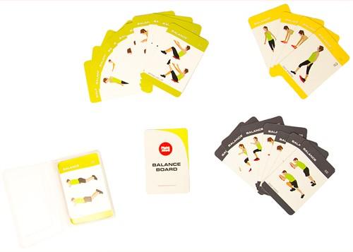 Fight Back Balance Board Training Cards