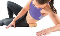 Gymstick Active Fascia Doubleball Cork - Met Online Trainingsvideo's-2