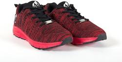 Gorilla Wear Brooklyn Knitted Sneakers (unisex) - Red/Black - 40