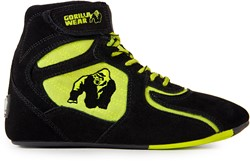 "Gorilla Wear Chicago High Tops - Black/ Neon Lime ""Limited"" - Maat 37"
