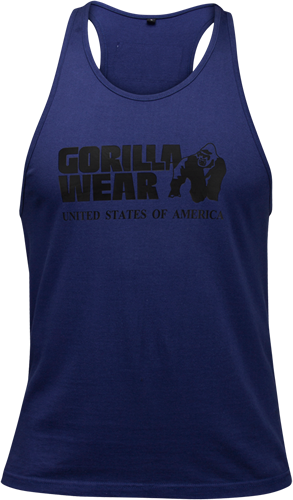 Gorilla Wear Classic Tank Top - Marineblauw