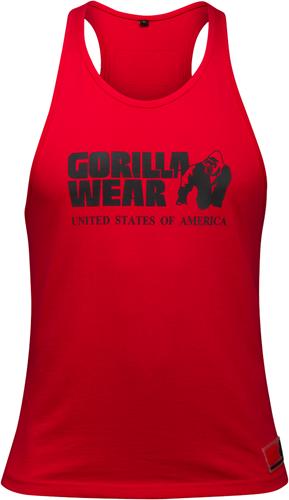 Gorilla Wear Classic Tank Top - Rood