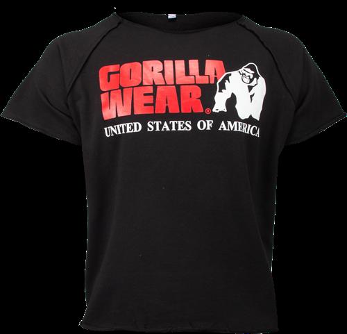 Gorilla Wear Classic Work Out Top - Zwart