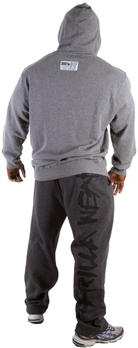 Gorilla Wear Classic Hooded Top Grey Melange-3