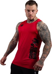Gorilla Wear Rockford Tank Top - Red - 4XL