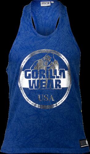 Gorilla Wear Mill Valley Tank Top - Royal Blauw