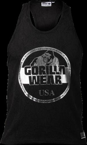 Gorilla Wear Mill Valley Tank Top - Zwart