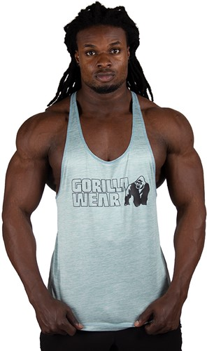 Gorilla Wear Austin Tank Top - Light Green-2
