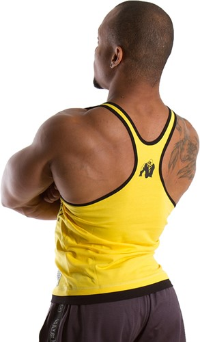 Gorilla Wear Stringer Tank Top - Geel-2