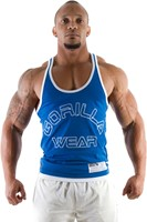 Gorilla Wear Stringer Tank Top Royal Blue