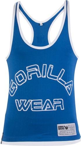 Gorilla Wear Stringer Tank Top - Blauw -3