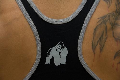 Gorilla Wear Stringer Tank Top - Zwart-3