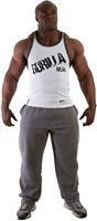 Gorilla Wear Stamina Rib Tank Top White