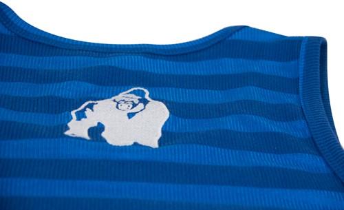 Gorilla Wear Stripe Stretch Tank Top Royal Blue-3