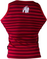 Gorilla Wear Stripe Stretch Tank Top Red