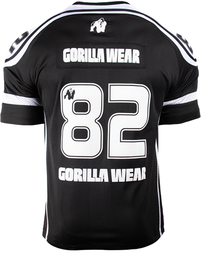 Gorilla Wear GW Athlete T-Shirt Black/White-2