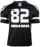Gorilla Wear GW Athlete T-Shirt Black/White