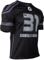 Gorilla Wear GW Athlete T-Shirt Dennis James Black/Grey-3