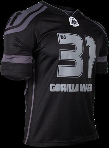 Gorilla Wear GW Athlete T-Shirt Dennis James Black/Grey-3