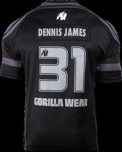 Gorilla Wear GW Athlete T-Shirt Dennis James Black/Grey-2