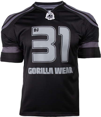 Gorilla Wear GW Athlete T-Shirt Dennis James Black/Grey