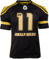 Gorilla Wear GW Athlete T-Shirt Dennis Wolf Black/Gold