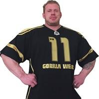 Gorilla Wear GW Athlete T-Shirt Dennis Wolf Black/Gold