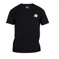 Gorilla Wear Essential V-Neck T-Shirt - Black ...