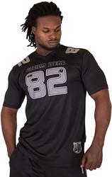 Gorilla Wear Fresno T-shirt - Black/Gray - 5XL