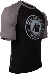 Gorilla Wear Texas T-shirt - Black/Dark Gray - XL