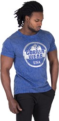 Gorilla Wear Rocklin T-shirt - Royal Blue - 5XL