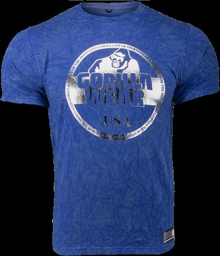 Gorilla Wear Rocklin T-shirt - Royal Blauw
