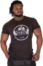 Gorilla Wear Rocklin T-shirt - Black - 5XL