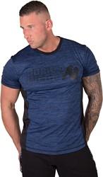 Gorilla Wear Austin T-shirt - Navy/Black - 5XL