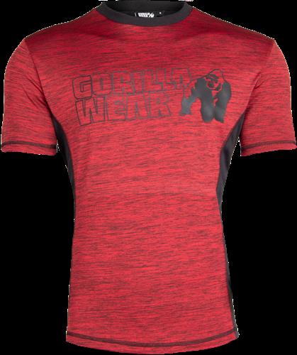 Gorilla Wear Austin T-shirt - Rood/Zwart