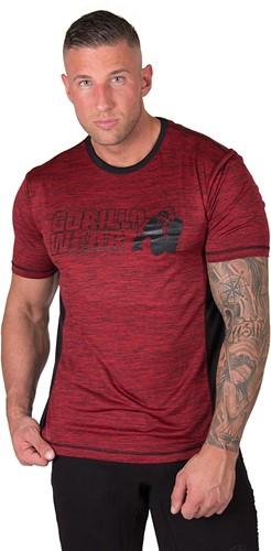 Gorilla Wear Austin T-shirt - Red/Black-2