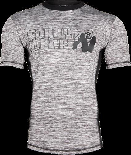 Gorilla Wear Austin T-shirt - Grijs/Zwart