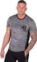 Gorilla Wear Austin T-shirt - Gray/Black