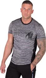 Gorilla Wear Austin T-shirt - Gray/Black - 5XL