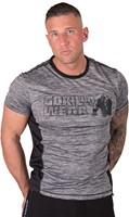 Gorilla Wear Austin T-shirt - Gray/Black-2
