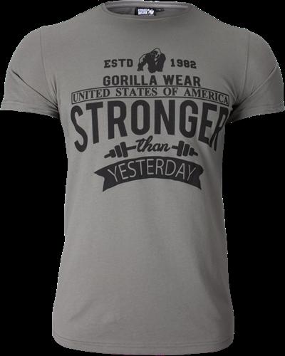 Gorilla Wear Hobbs T-shirt - Grijs