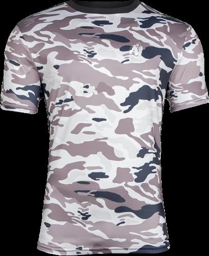 Gorilla Wear Kansas T-shirt - Beige Camo