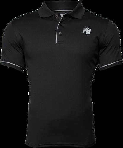 Gorilla Wear Forbes Polo - Black