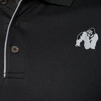 Gorilla Wear Forbes Polo - Black-3