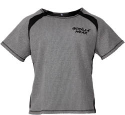 Gorilla Wear Augustine Old School Work Out Top - Gray - S/M