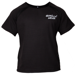 Gorilla Wear Augustine Old School Work Out Top - Black - L/XL