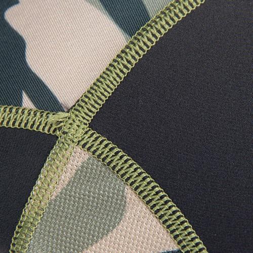 Gorilla Wear Rashguard Long Sleeves - Army Green Detail